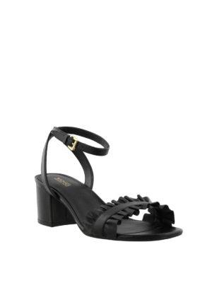 MICHAEL KORS: sandali online - Sandali flex mid Bella neri