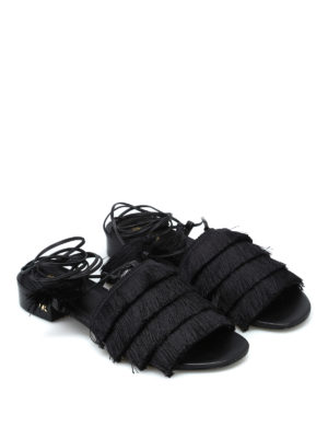 MICHAEL KORS: sandali online - Sandali Gallagher con frange