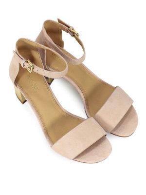 MICHAEL KORS: sandali online - Sandali Paloma in pelle scamosciata