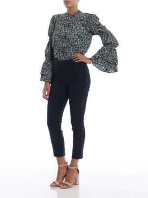 MICHAEL KORS: camicie online - Camicia a fiori con polsini a campana