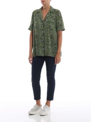 MICHAEL KORS: camicie online - Camicia a motivo Paisley stile pigiama