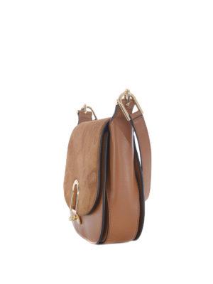 MICHAEL KORS: borse a spalla online - Borsa Delfina grande color ghianda