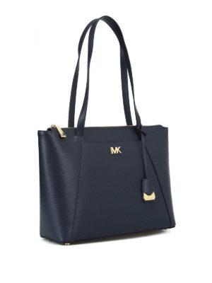MICHAEL KORS: shopper online - Shopper Maddie in pelle blu