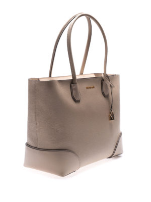 MICHAEL KORS: shopper online - Tote Mercer Gallery beige con zip