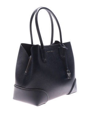 MICHAEL KORS: shopper online - Shopper Mercer Gallery M pelle blu