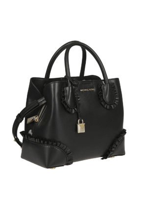 MICHAEL KORS: shopper online - Borsa Mercer Gallery piccola nera