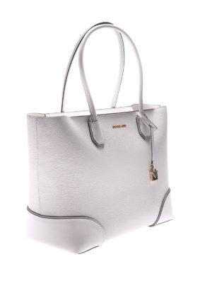 MICHAEL KORS: shopper online - Tote Mercer Gallery bianca con zip