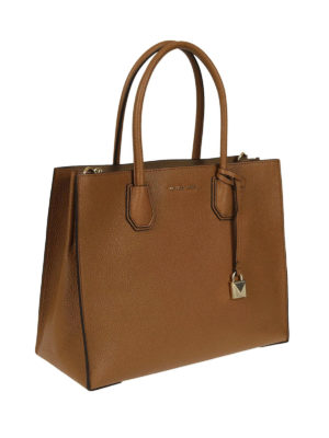 MICHAEL KORS: shopper online - Borsa Mercer grande in pelle