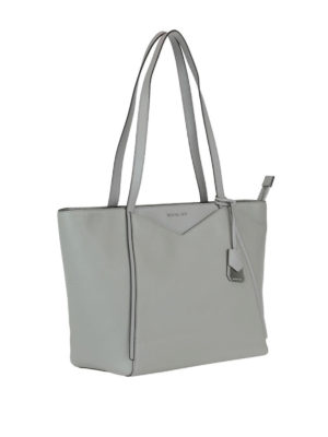 MICHAEL KORS: shopper online - Shopper grigio perla Whitney L
