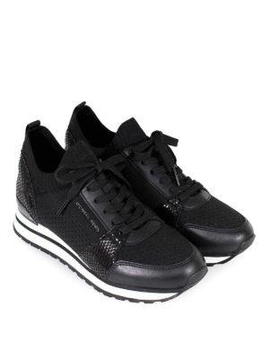 MICHAEL KORS: sneakers online - Sneaker slip on Billie con inserti in pelle