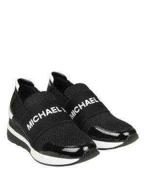 MICHAEL KORS: sneakers online - Slip-on Felix in scuba e mesh