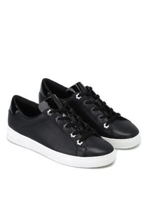 MICHAEL KORS: sneakers online - Sneaker Irving in pelle nera