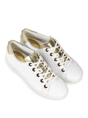 MICHAEL KORS: sneakers online - Sneaker Irving in pelle
