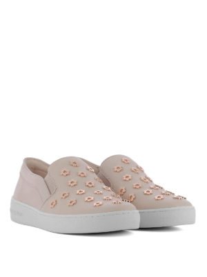 MICHAEL KORS: sneakers online - Slip-on Keaton con fiori in metallo