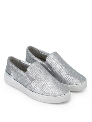MICHAEL KORS: sneakers online - Slip-on Kyle glitterate
