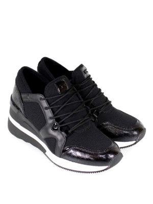 MICHAEL KORS: sneakers online - Sneaker alte Liv in pelle e tessuto a rete