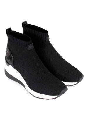 MICHAEL KORS: sneakers online - Sneaker alte slip on a calza Skyler