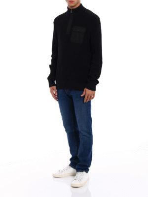 MICHAEL KORS: maglia a collo alto e polo online - Dolcevita in cotone con tasca