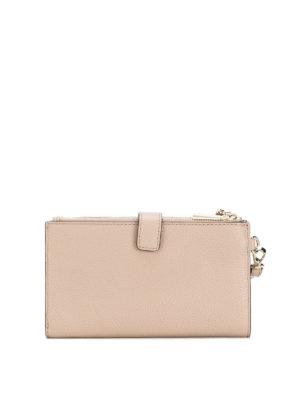 MICHAEL KORS: portafogli online - Portafoglio Adele in pelle con doppia zip