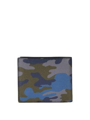 MICHAEL KORS: portafogli online - Portafoglio bifold camouflage