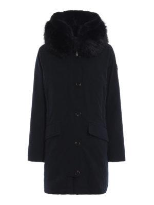 MICHAEL KORS: cappotti imbottiti - Parka imbottito con finta pelliccia