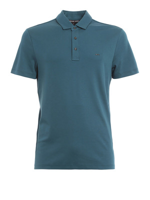 Michael Kors: polo shirts - Jersey cotton polo shirt