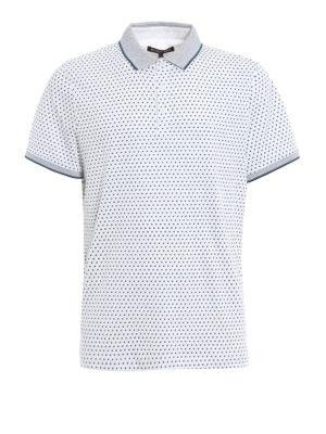 Michael Kors: polo shirts - Spring printed cotton polo shirt