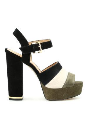 Michael Kors: sandals - Anise platform suede sandals