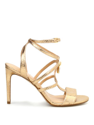 Michael Kors: sandals - Antoinette padlock detail sandals