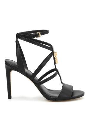 Michael Kors: sandals - Antoinette padlock detail sandals