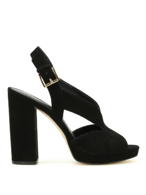 Michael Kors: sandals - Becky platform suede sandals