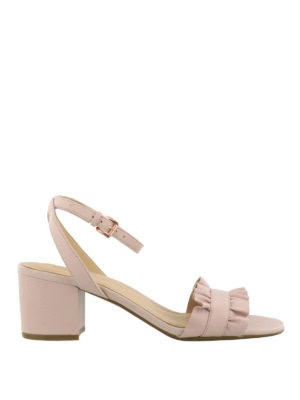 MICHAEL KORS: sandali - Sandali flex mid Bella rosa
