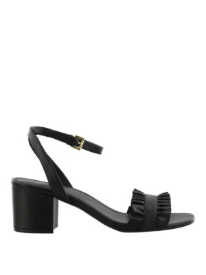MICHAEL KORS: sandali - Sandali flex mid Bella neri