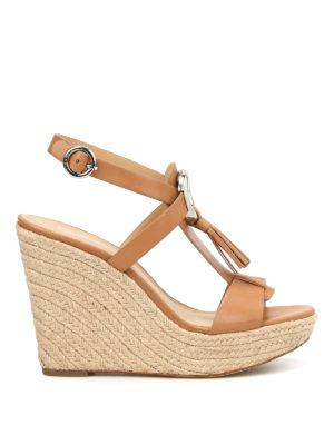 Michael Kors: sandals - Darien wedge sandals