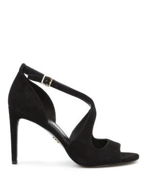 Michael Kors: sandals - Estee criss cross straps sandals