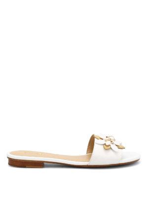 Michael Kors: sandals - Heidi leather slippers