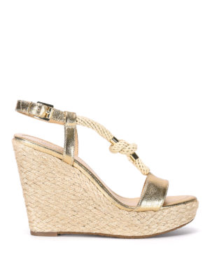 Michael Kors: sandals - Holly knot detail wedges