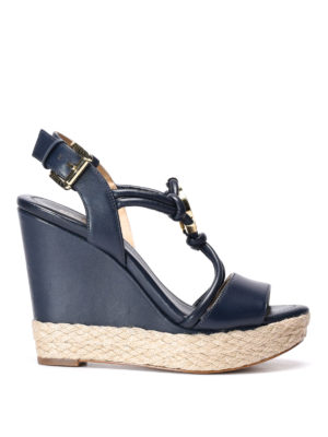 Michael Kors: sandals - Kinley wedge sandals