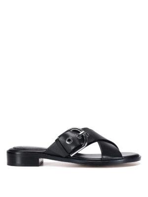 Michael Kors: sandals - Leather sandals