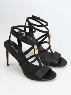 Michael Kors: sandals online - Antoinette padlock detail sandals
