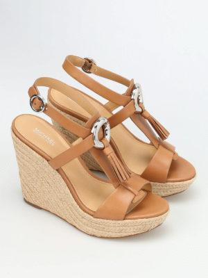 Michael Kors: sandals online - Darien wedge sandals