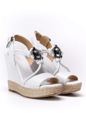Michael Kors: sandals online - Kinley wedge sandals