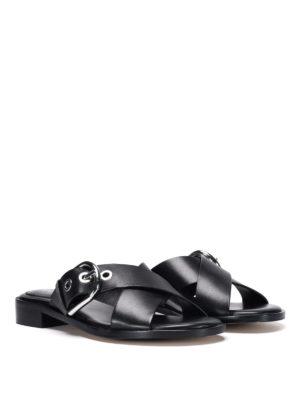 Michael Kors: sandals online - Leather sandals