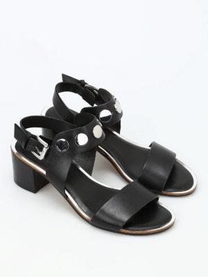 Michael Kors: sandals online - Reggie mid leather sandals