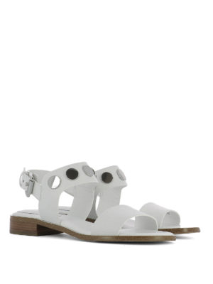 Michael Kors: sandals online - Reggie stud embellished sandals