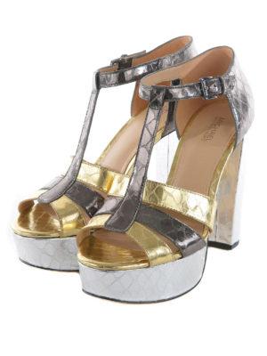 Michael Kors: sandals online - Reptile print sandals