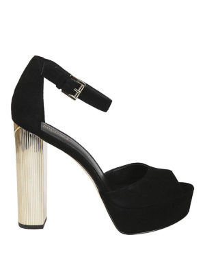 MICHAEL KORS: sandali - Sandali Paloma in camoscio