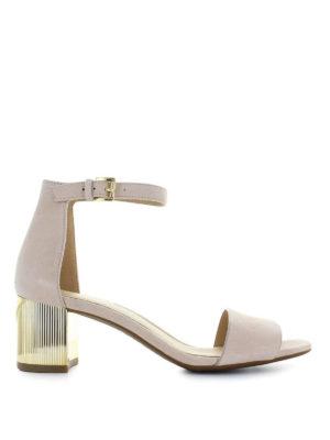 MICHAEL KORS: sandali - Sandali Paloma in pelle scamosciata