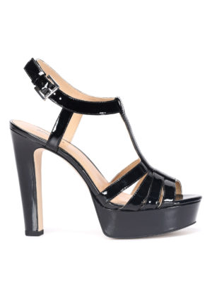 Michael Kors: sandals - Patent leather Catalina sandals