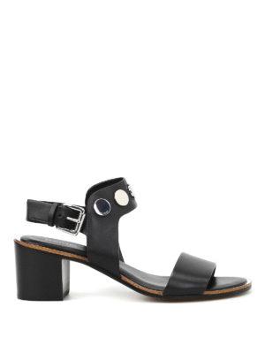 Michael Kors: sandals - Reggie mid leather sandals